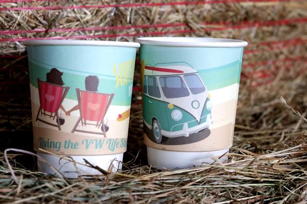 We Care – Le processus Gobelet en carton Recyclage